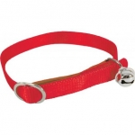 COLLIER NYLON ROUGE CHAT