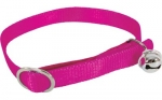 COLLIER NYLON FUSHIA CHAT