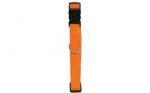 COLLIER NYLON REGLABLE 20MM ORANGE